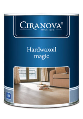 Hardwaxoil Magic-tvrdý voskový olej Magic bezbarvý CIRANOVA bal.1 lt  (650-005510 N1A)